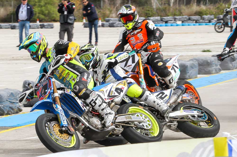 Thomas Chareyre se impone en el Mundial de Supermoto en Jerez