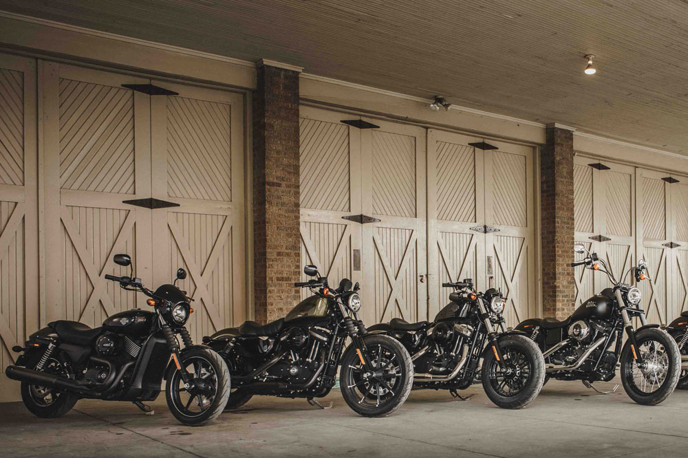 MOTOh! Barcelona 2016: parada del Dark Custom Experience Tour de Harley-Davidson