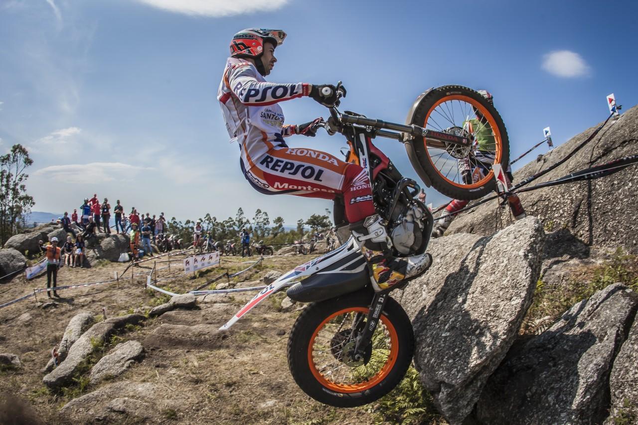 El equipo Repsol Honda buscará su décimo título en el Mundial de Trial