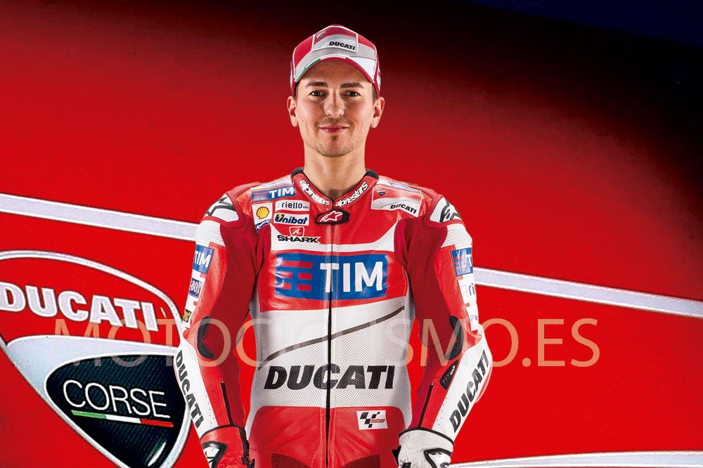 Jorge Lorenzo ficha por Ducati