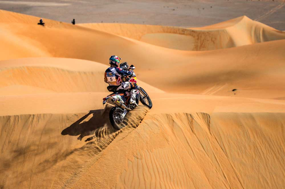 Toby Price gana el Abu Dhabi Desert Challenge 2016