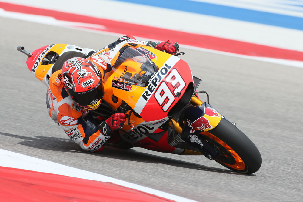 Marc Márquez, inalcanzable en Texas