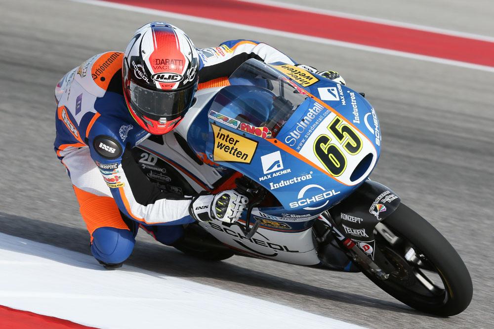 Philipp Oettl, pole en Austin con Jorge Navarro segundo