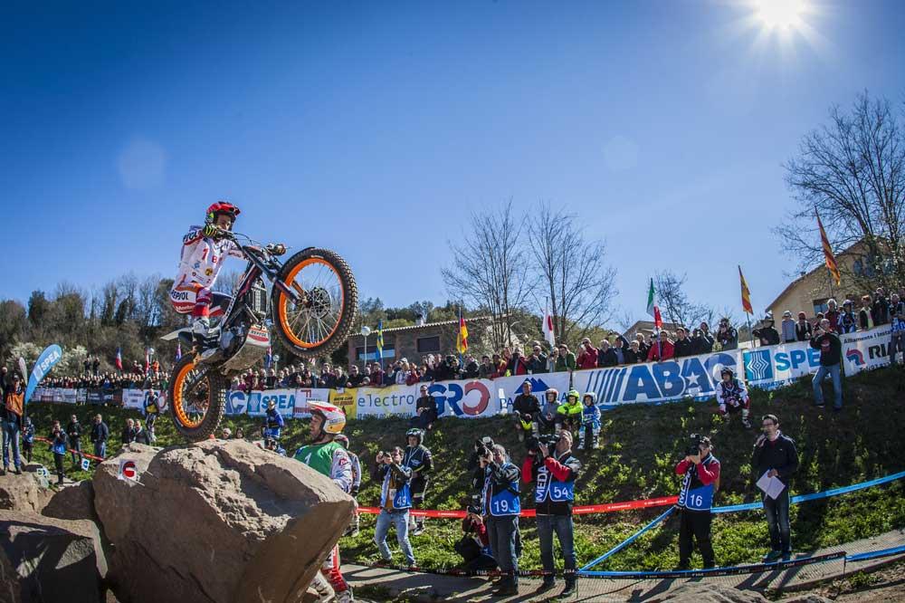 Primera prueba Campeonato del Mundo de Trial 2016 en Olvan