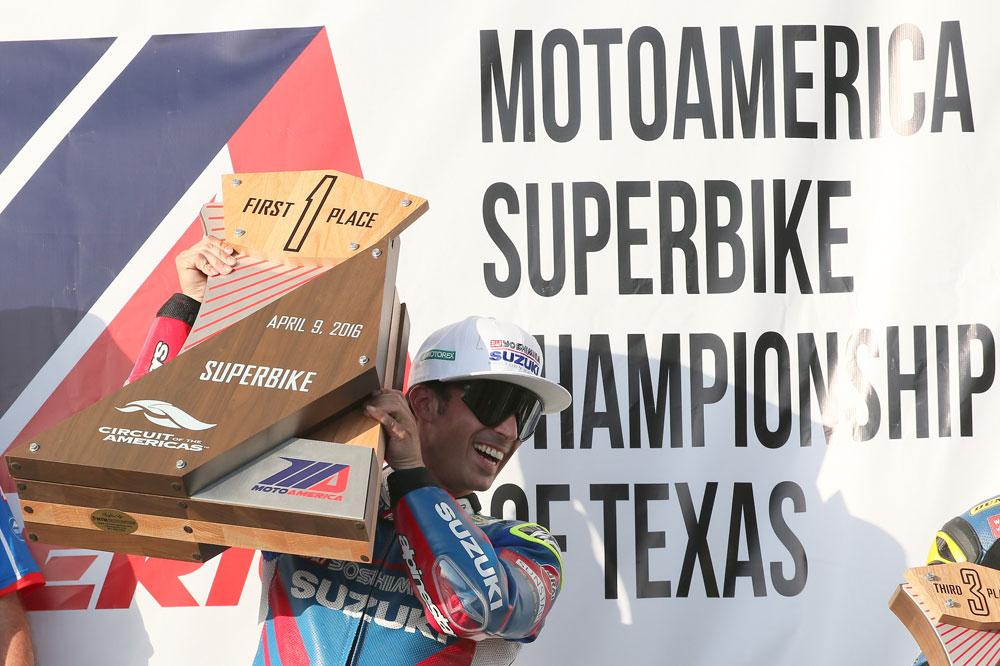 Doblete de Toni Elias en el MotoAmerica Superbike