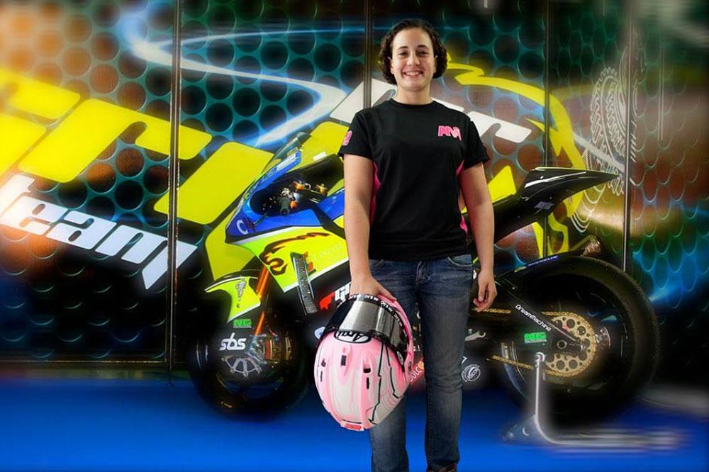 Ana Carrasco disputará el FIM CEV de Moto2 con el equipo Griful