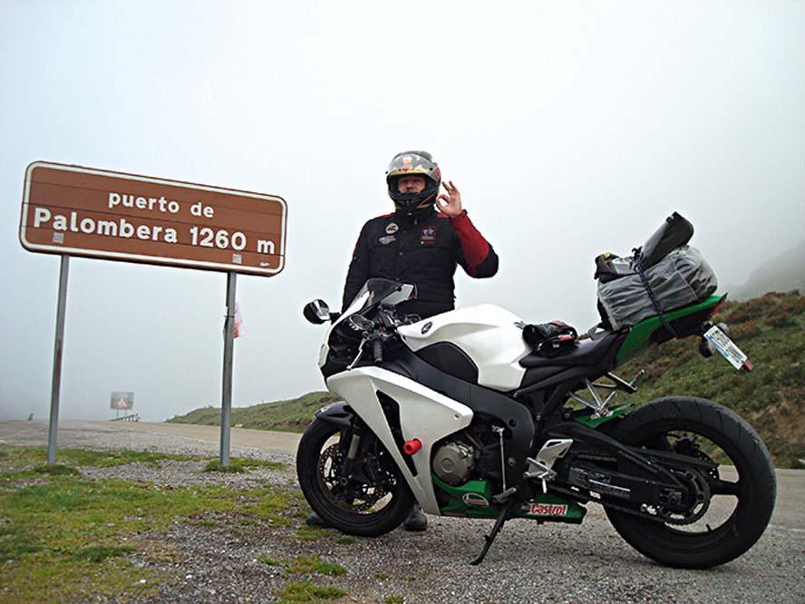 100.000 km con la Honda CBR 1000 RR