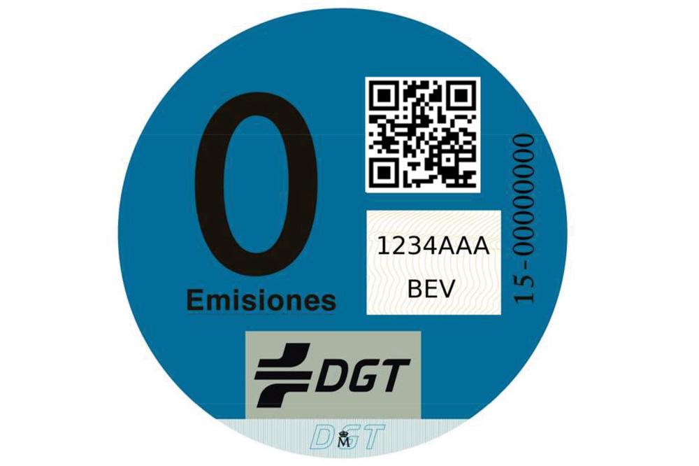 Clasificación de vehículos de la DGT