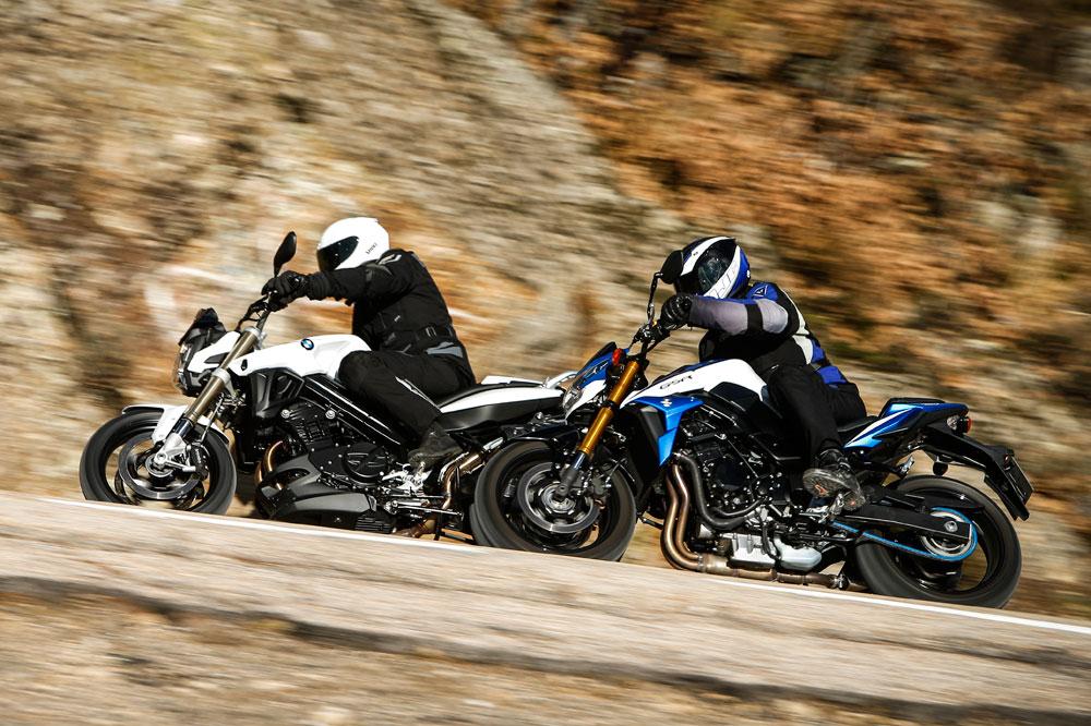 BMW F 800 R y Suzuki GSR750Z, dos motos naked de uso diario