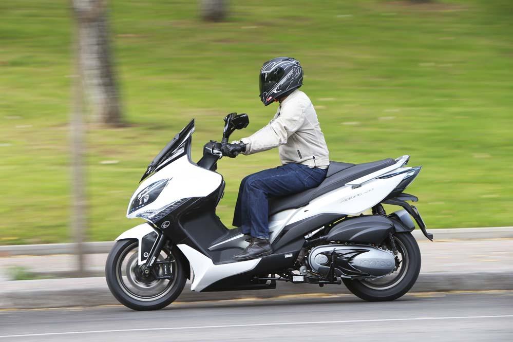 KYMCO Xciting 400i ABS, la filosofía de un scooter deportivo