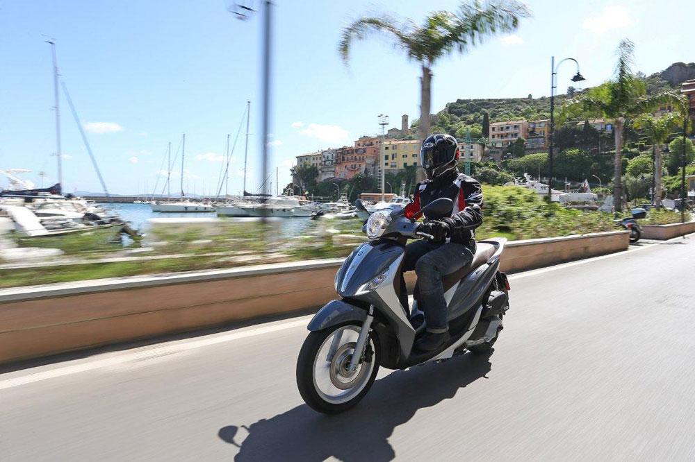 Piaggio Medley 125/S, un nuevo scooter de rueda alta