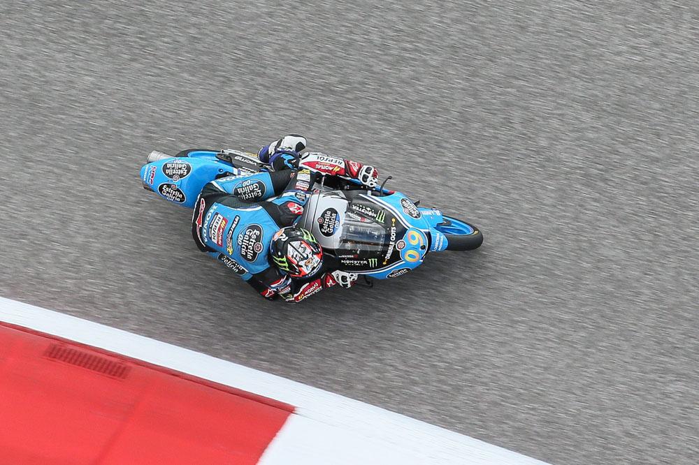 Jorge Navarro comienza mandando en Jerez