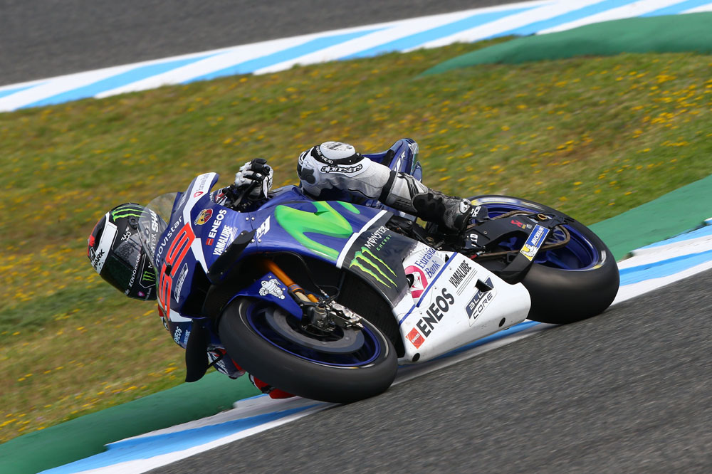 Jorge Lorenzo saca el martillo en Jerez