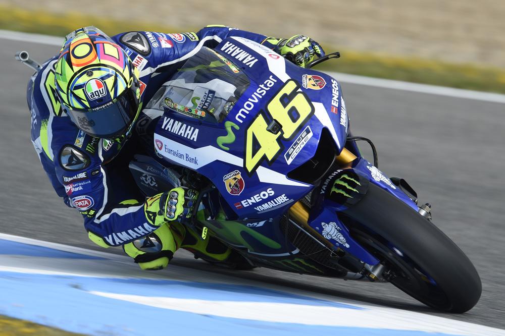Valentino Rossi toma el relevo de Jorge Lorenzo