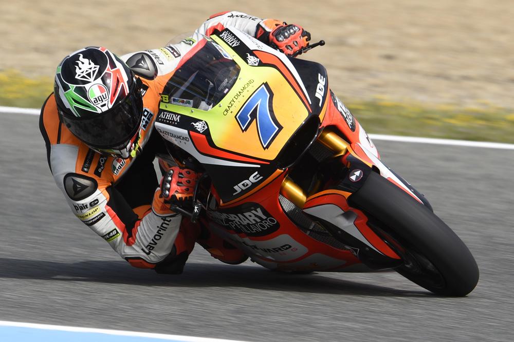 Lorenzo Baldasarri comanda el FP3 de Moto2