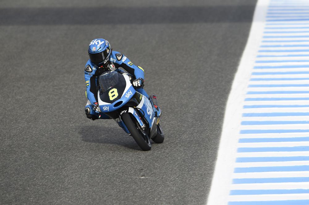 Nicolo Bulega se estrena en Jerez