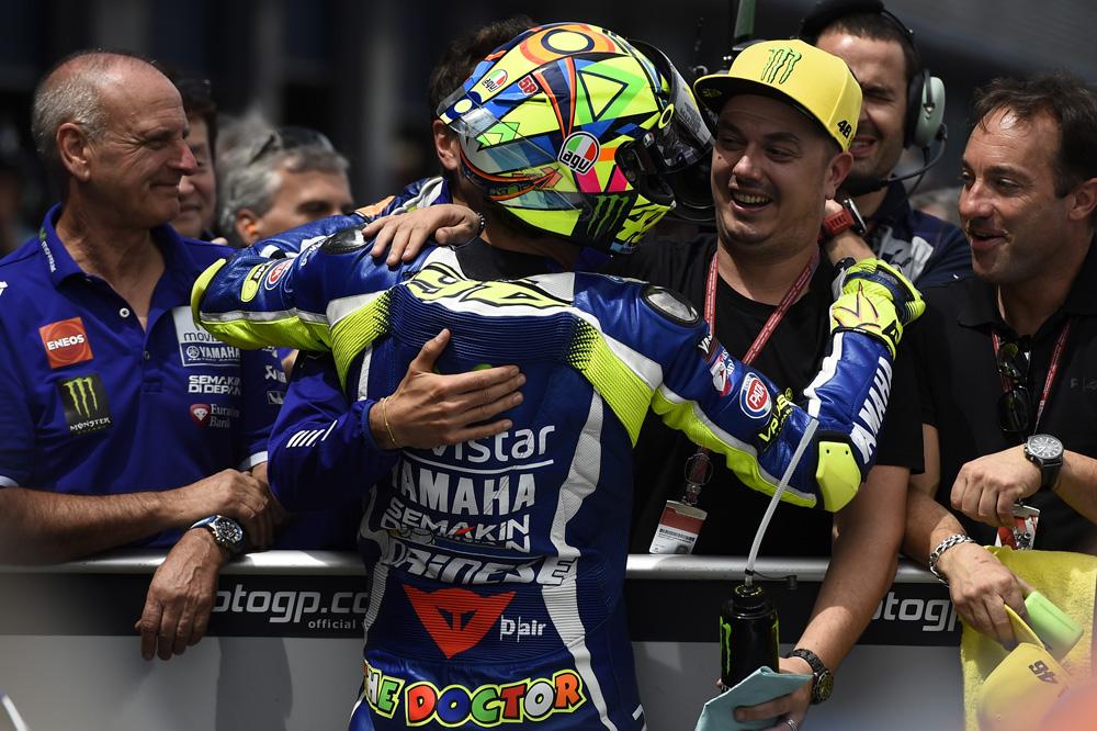 """Valentino Rossi: """"Vencer en Jerez es especial, es la catedral del Motociclismo"""""""