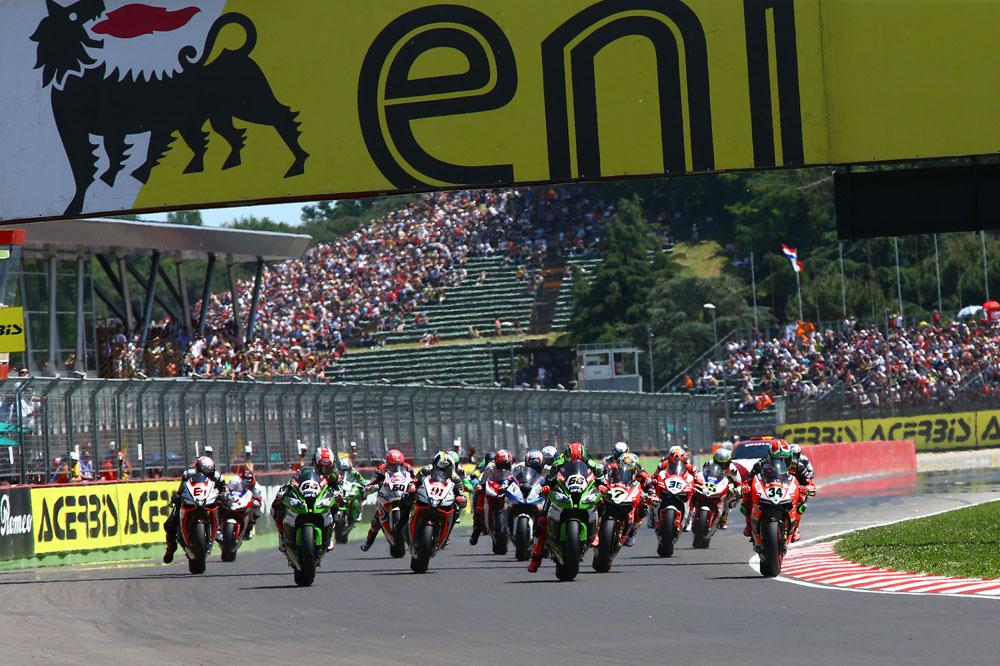 Horarios del Mundial de Superbike en Imola