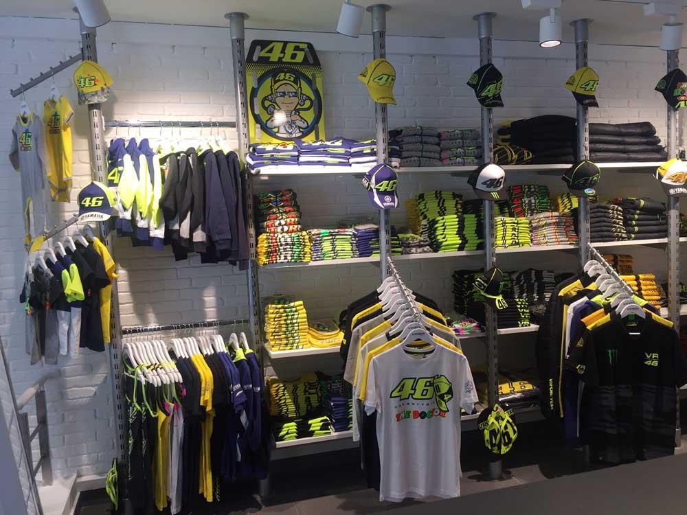 Nuevo merchandising de Valentino Rossi