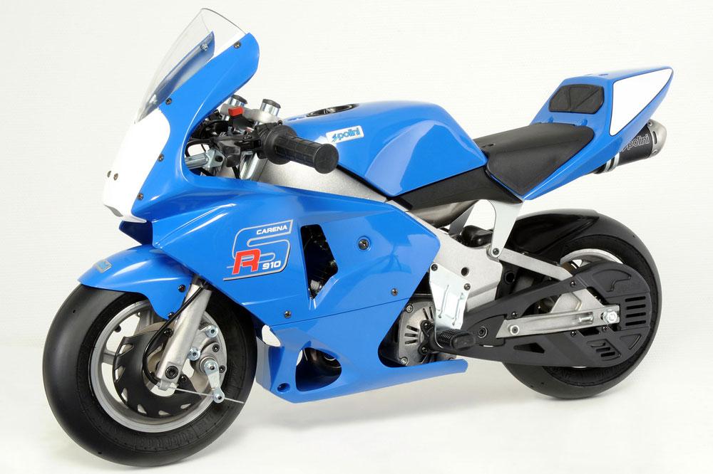 Polini 910 Carena RS, una minimoto de carreras