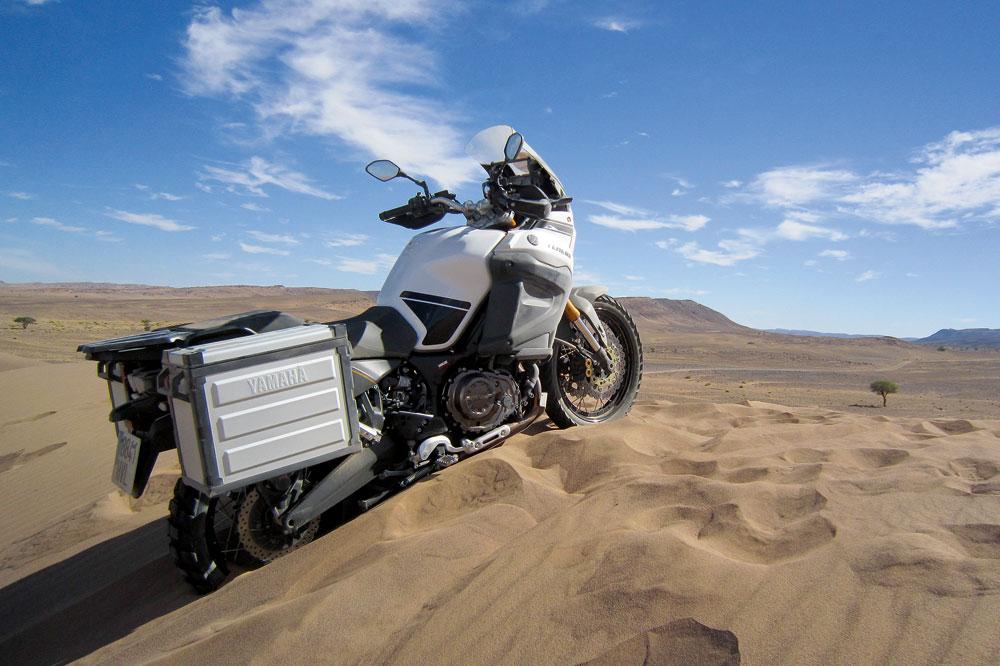 Aventura en Marruecos con la Yamaha Super Ténéré 1200