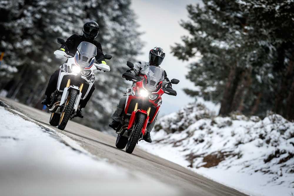 Escoge moto trail para viajar