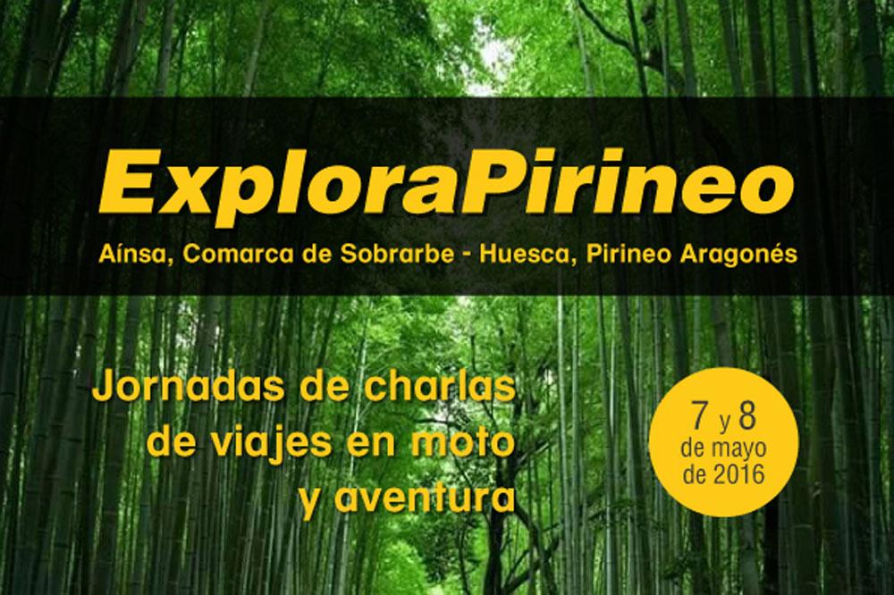 ExploraPirineo, un evento de viajes en moto y aventura