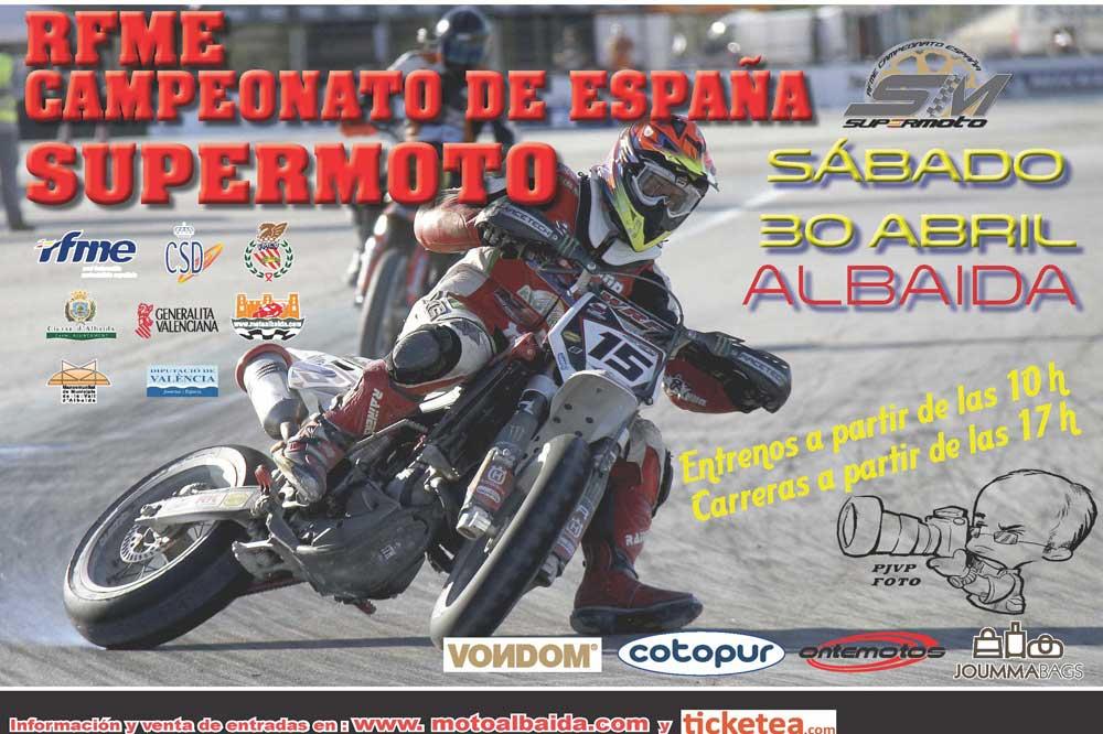 El Nacional de Supermoto comienza este fin de semana en Valencia