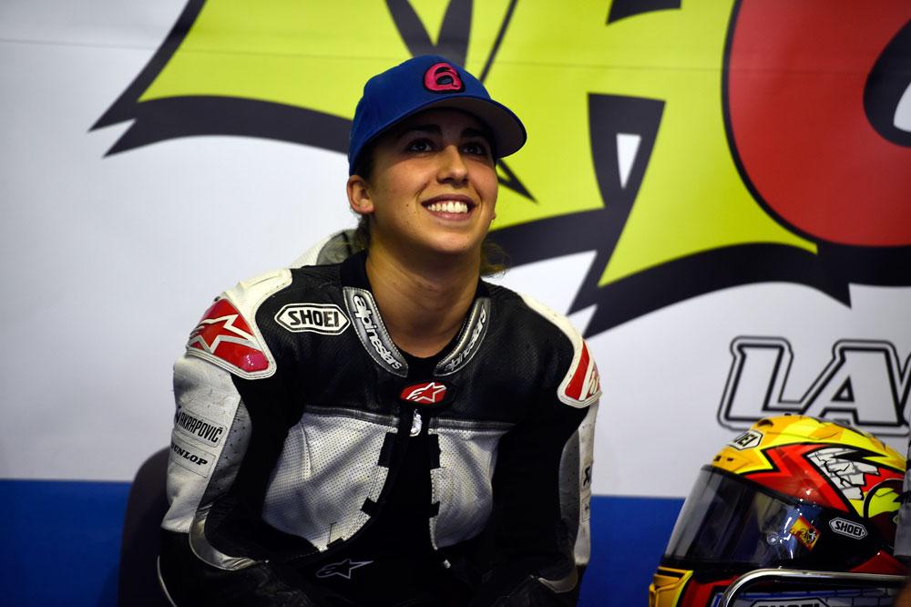 María Herrera toma las riendas de su equipo
