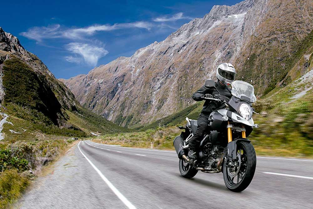 Suzuki presenta el proyecto V-Strom On Road