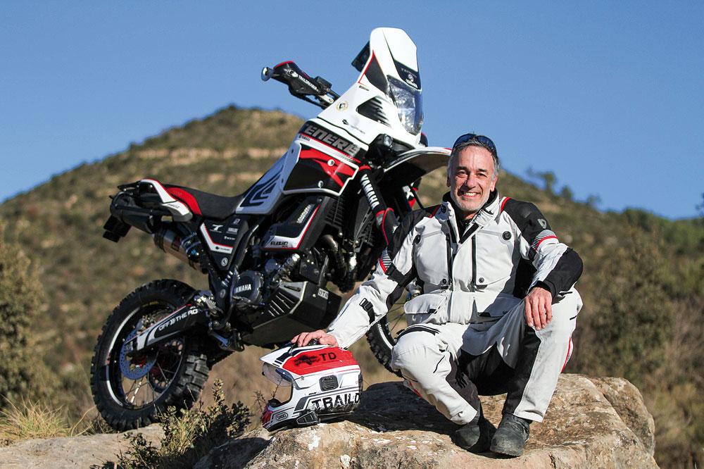 Preparación de la Yamaha XT660Z Ténéré por Trail Dreamer