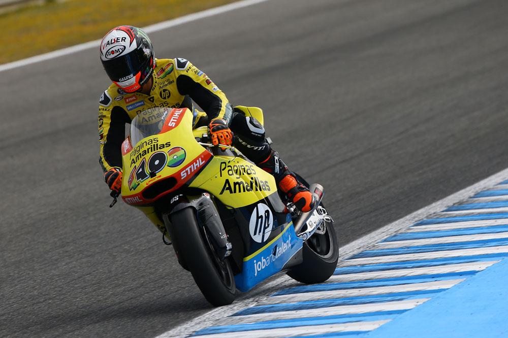 Solo Simone Corsi frena a Alex Rins en Moto2