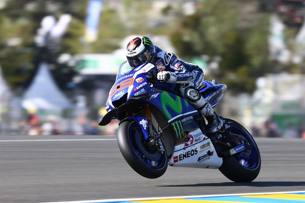 Jorge Lorenzo marca la pauta en Le Mans
