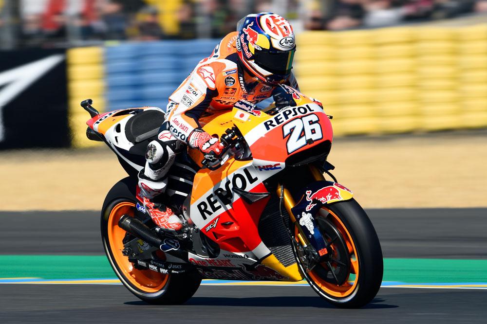 Las MotoGP se desbocan en Le Mans