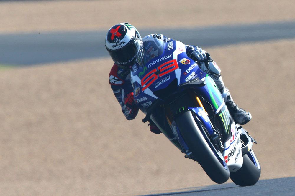 Jorge Lorenzo, pole en Francia por delante de Marc Márquez