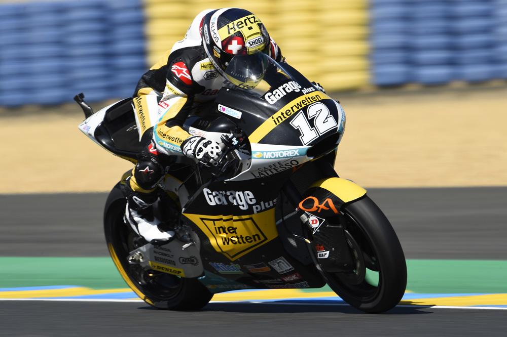Thomas Luthi bate a Alex Rins en el cronometrado de Moto2