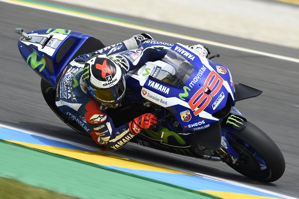 Jorge Lorenzo arrasa en Francia y Maverick Viñales logra su primer podio en MotoGP