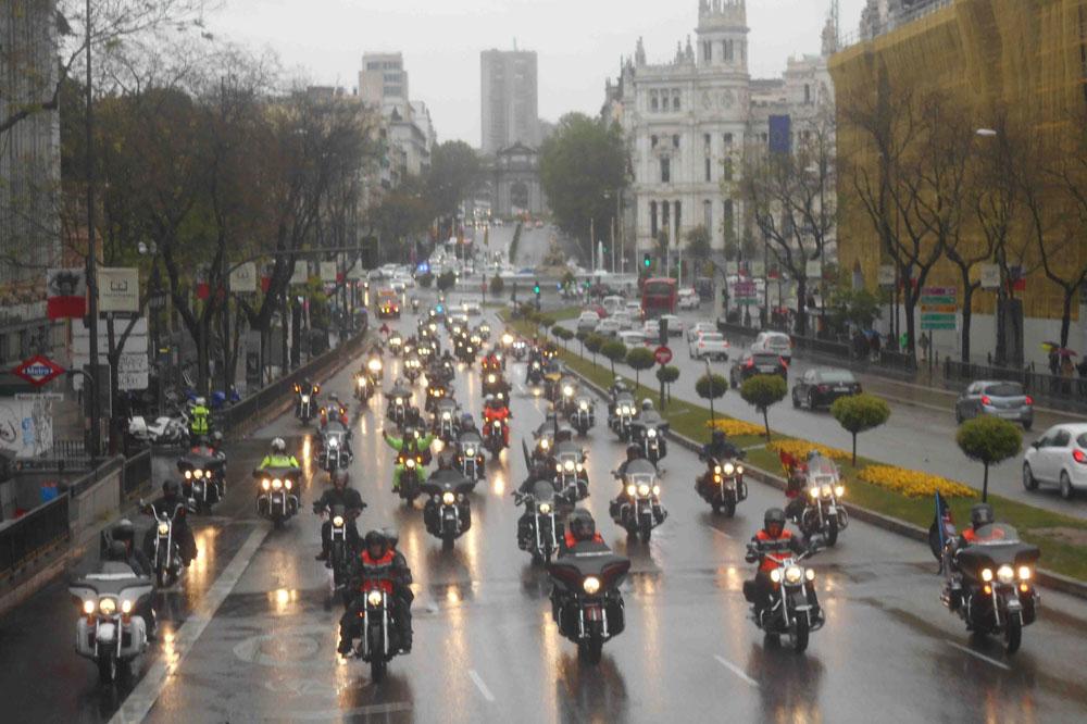 La concentración Harley-Davidson KM0 reúne a más de 300 motoristas