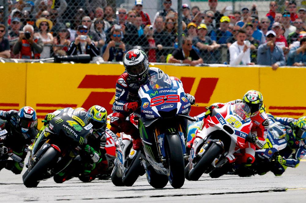 Jorge Lorenzo, imparable en el GP de Francia