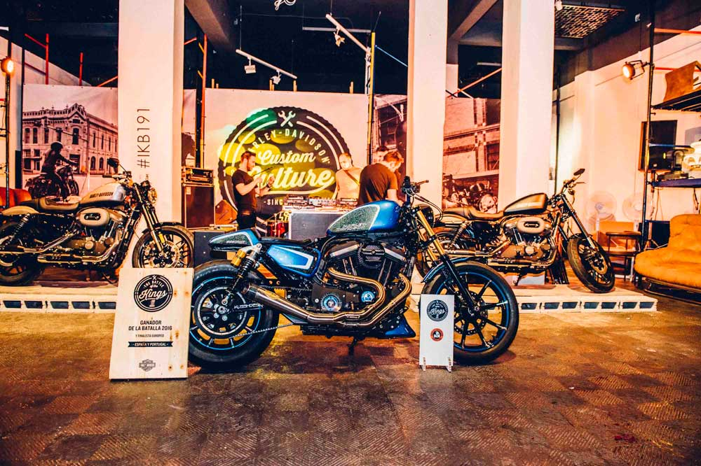 La customización de Harley-Davidson Barcelona, finalista en Battle of the Kings