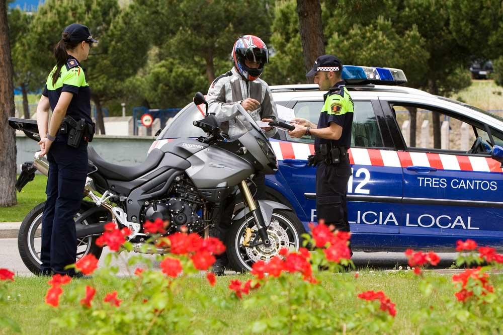 Las multas de moto más frecuentes