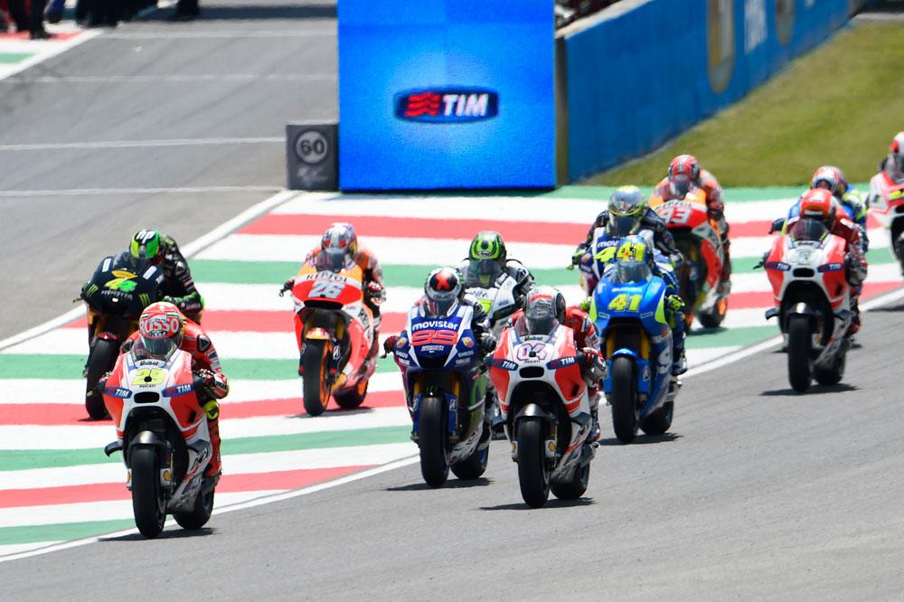 Horarios del GP de Italia de MotoGP en Mugello