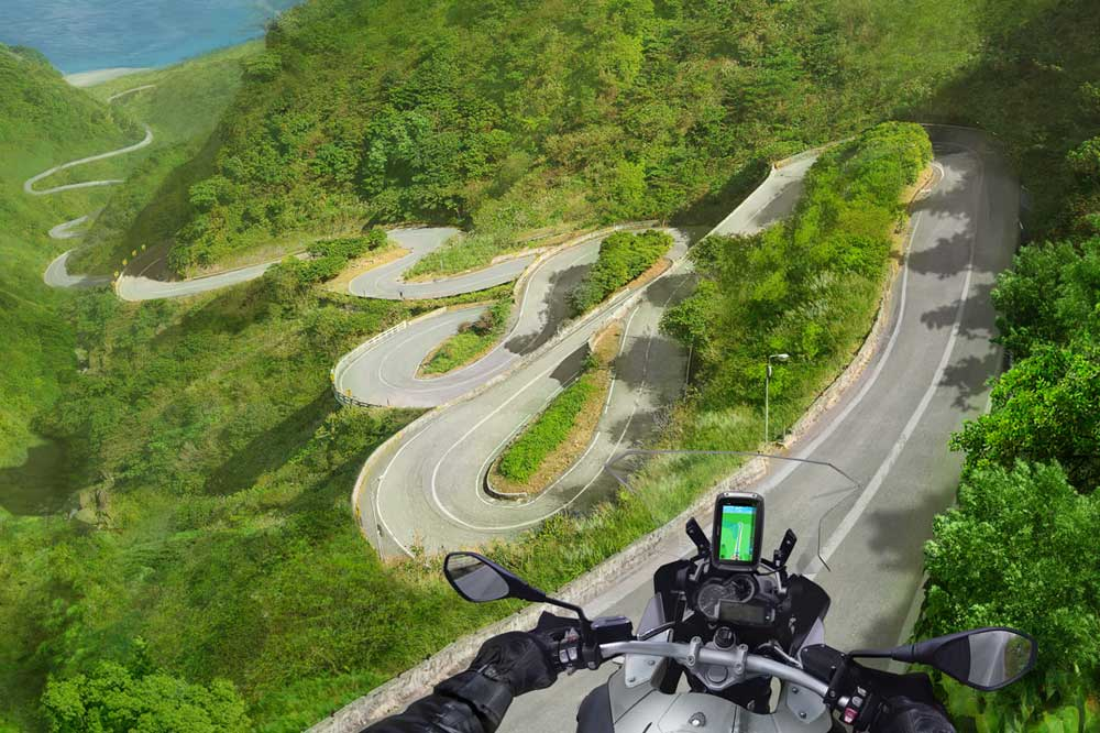 TomTom Rider 410: ahora con cien rutas instaladas
