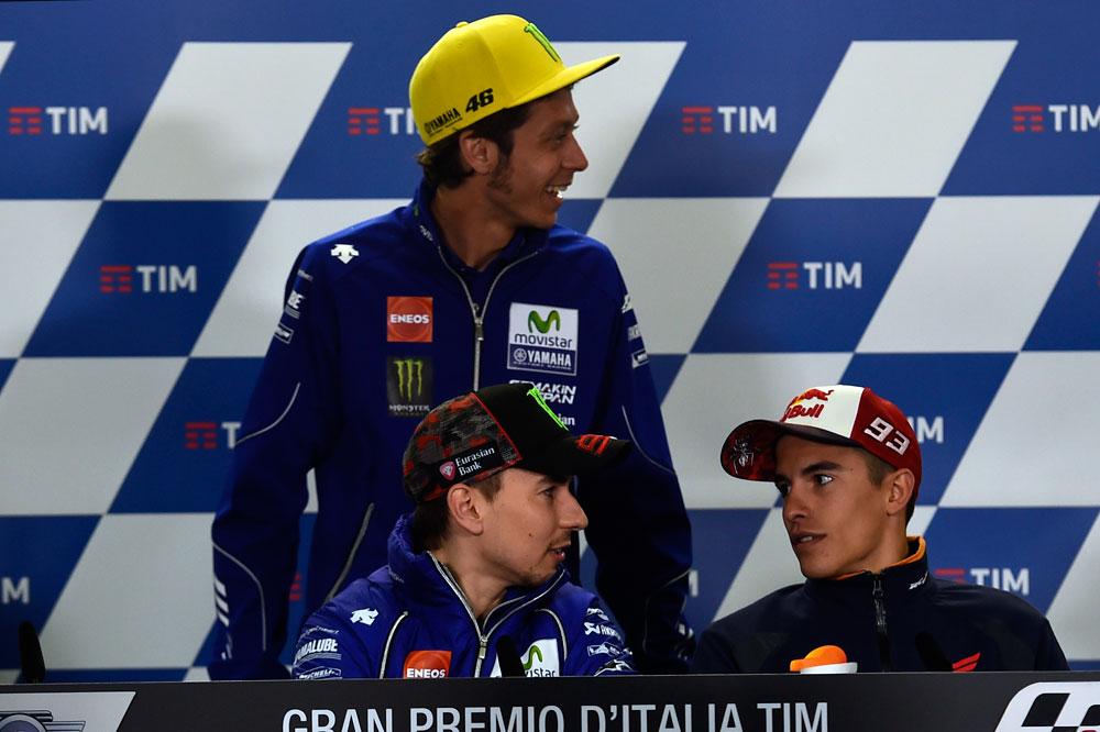 """Valentino Rossi: """"Hay que respetar a todos los pilotos"""""""