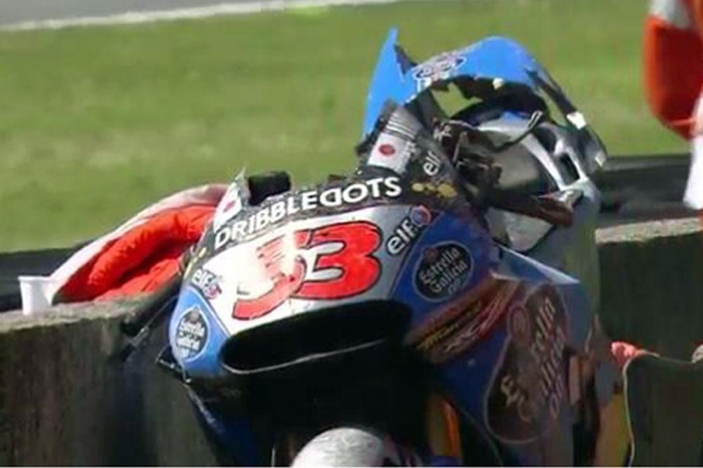 Tito Rabat se fractura la clavícula y se perderá el GP de Italia