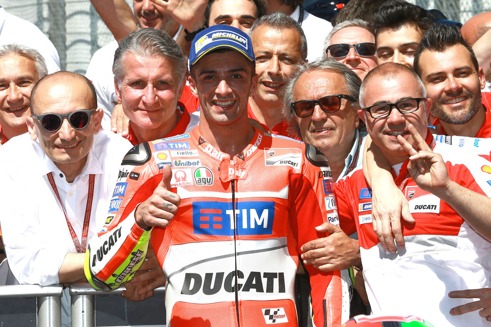 """Andrea Iannone: """"Teníamos ritmo para ganar la carrera"""""""