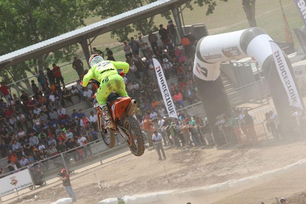 José Antonio Butrón se impone en la quinta prueba del Nacional de Motocross