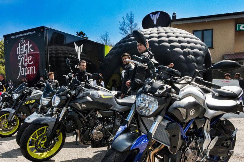 Prueba las Yamaha MT en el MT Tour 2016
