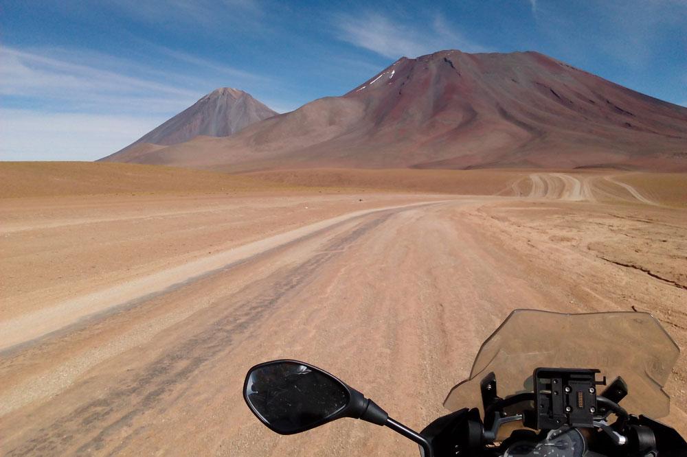 Viaje en moto por Chile y Bolivia