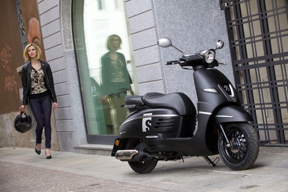 Peugeot Scooters aumenta un 25% sus ventas